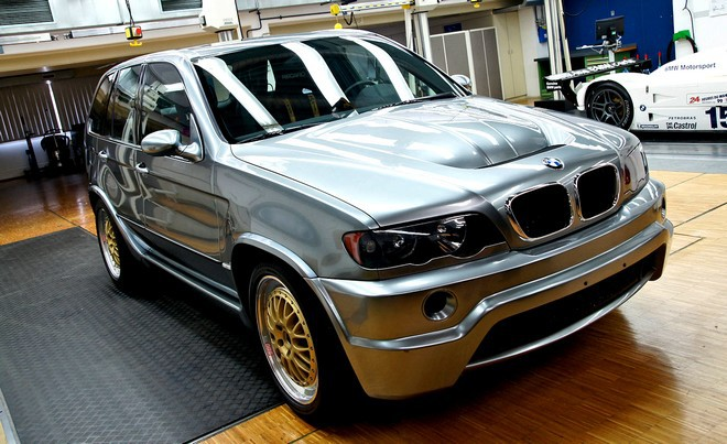 BMW árak, BMW X5 Le Mans Concept