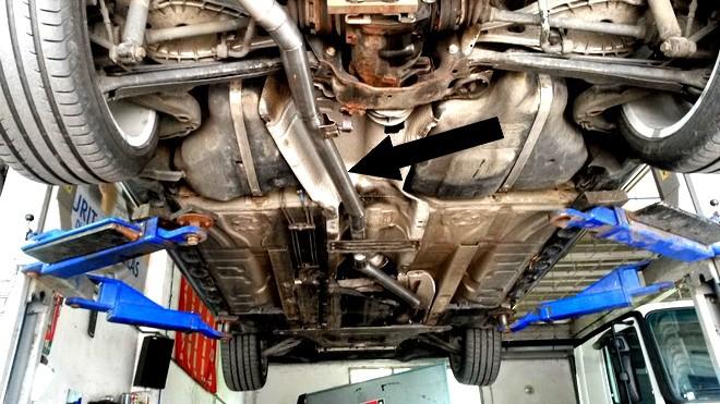BMW kipufogó rendszer