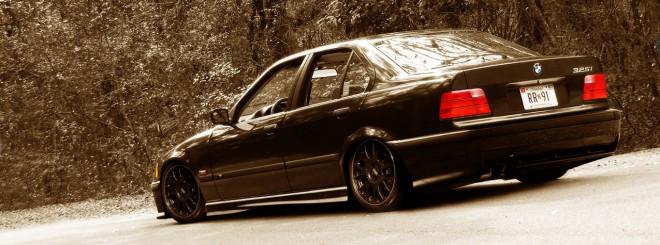 BMW E36 Sedan