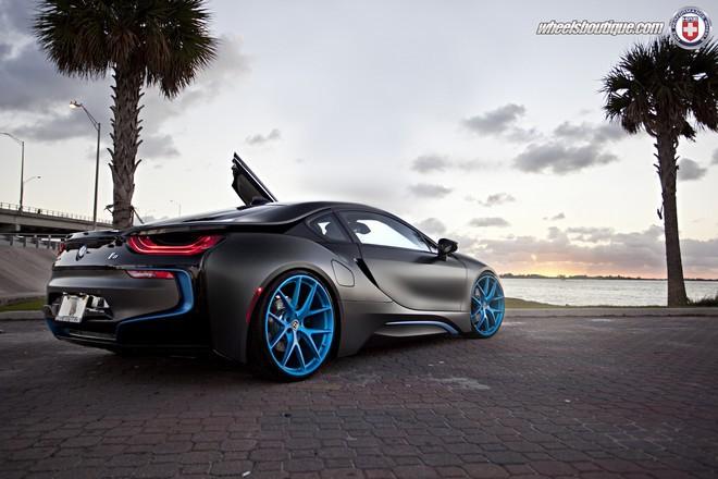 BMW i8, tuning
