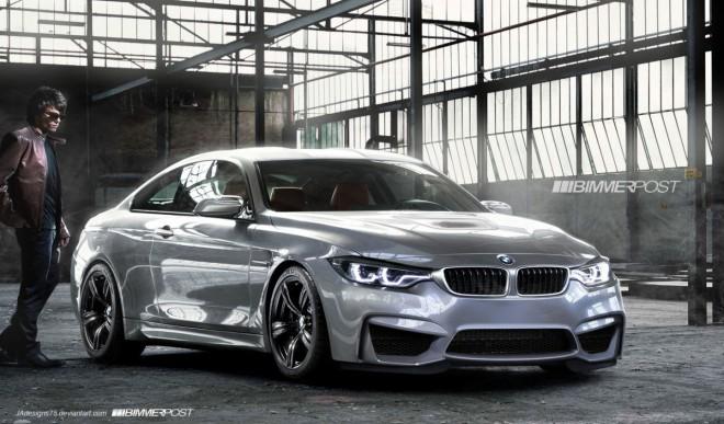 BMW M4, F82, szürke