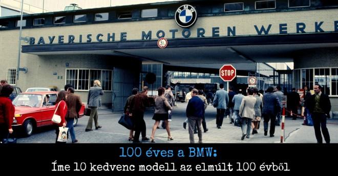 BMW 100. születésnap