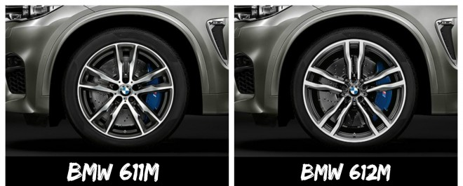 BMW X5 M felni