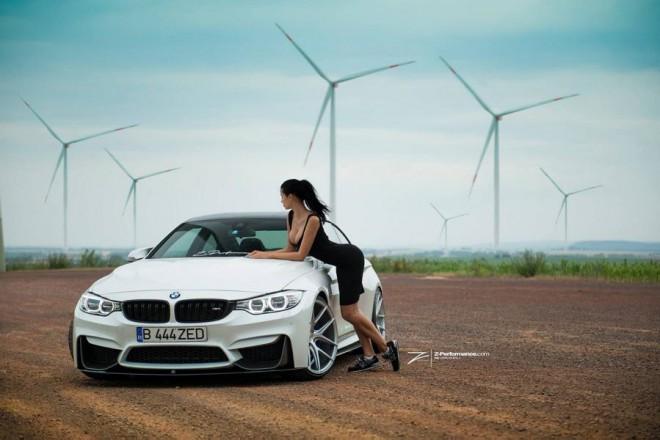 BMW M4, F82, fehér