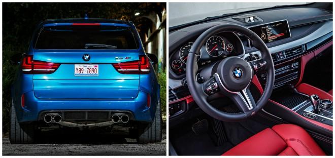BMW X5 M, beltér