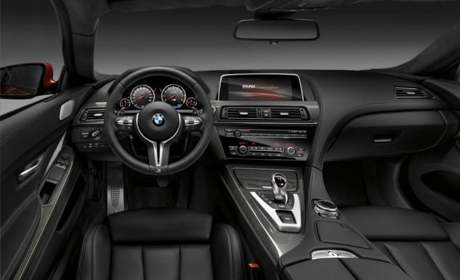 BMW M6 F13 beltér, interior