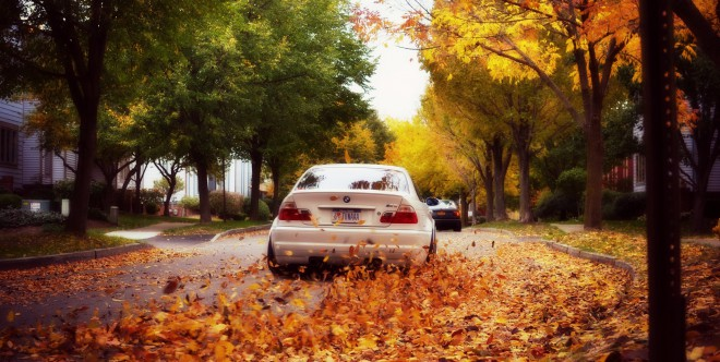 Fehér BMW E46 M3