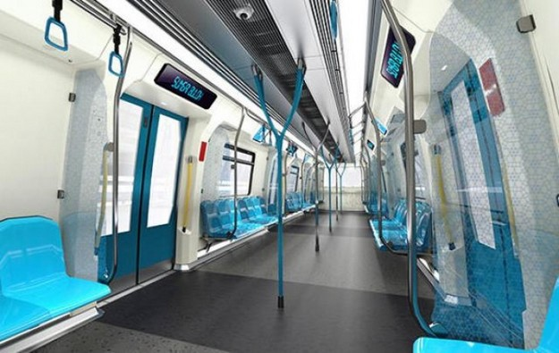 BMW, metró beltér