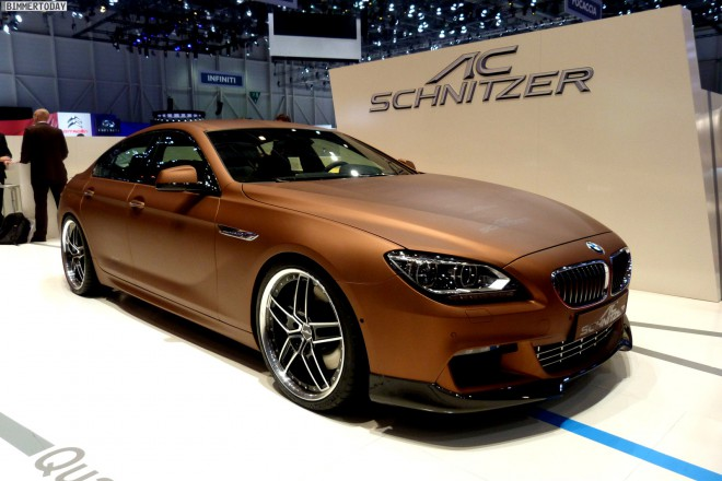 BMW 640d - Ac Schnitzer