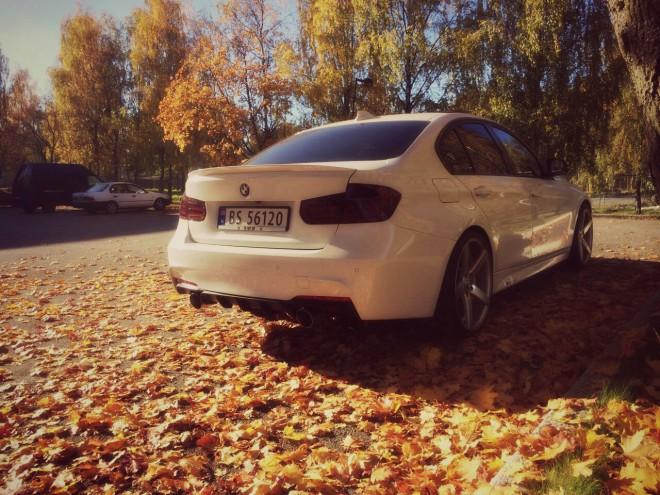 Fehér BMW M3