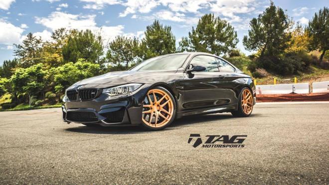 fekete BMW M4
