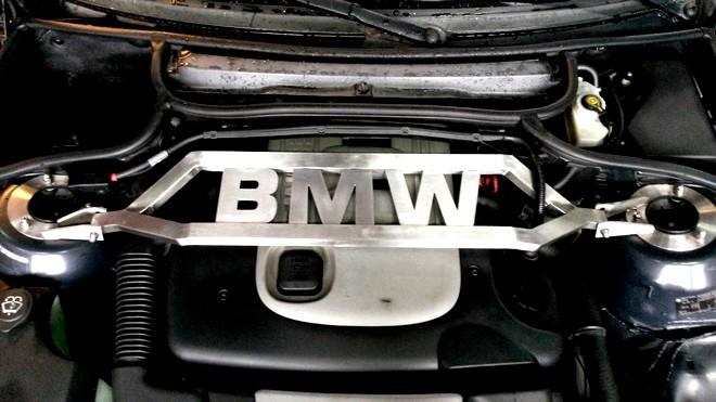 BMW toronymerevítő