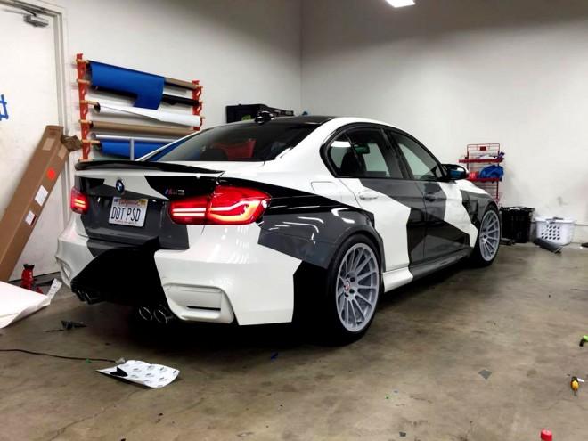 BMW Camouflage, kamuflázs