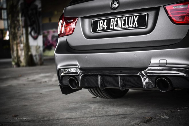 BMW E91 diffúzor