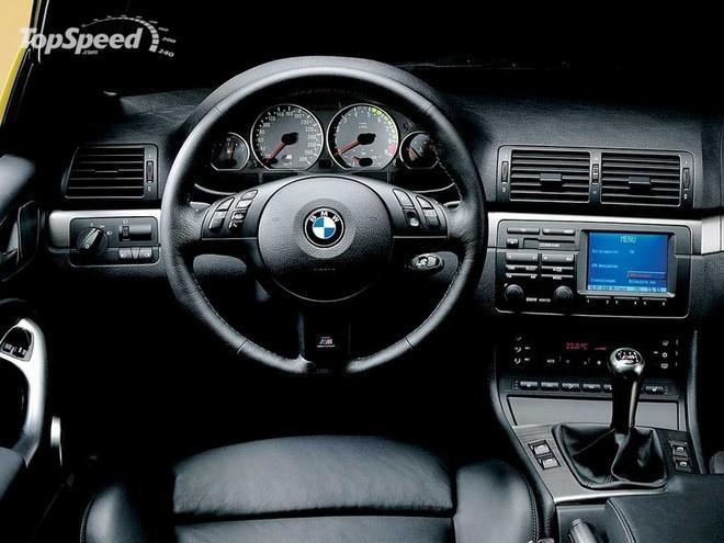 BMW M3, manuális váltó