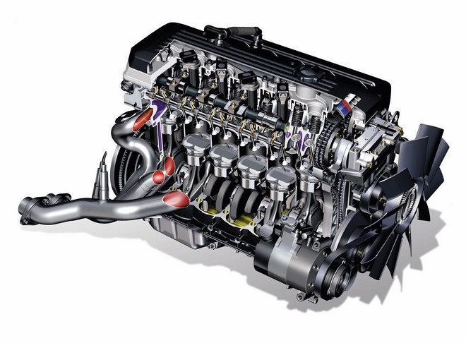 BMW E46 M3 motor, S54