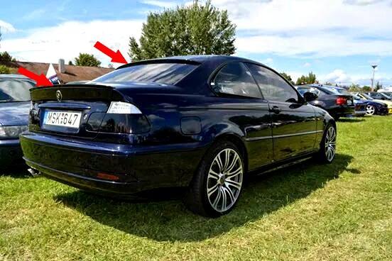 BMW spoiler