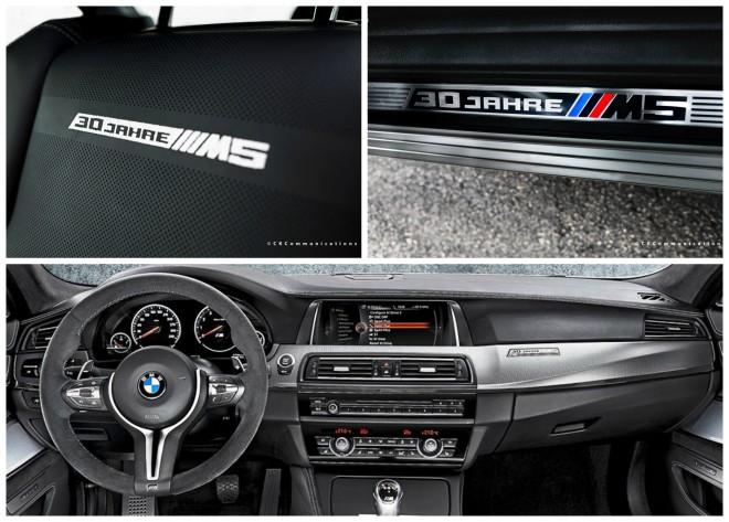 BMW M5 30 év - beltér