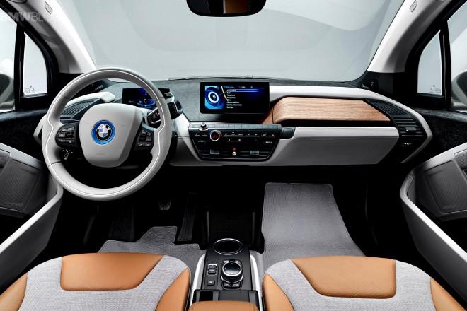 BMW i3 beltér